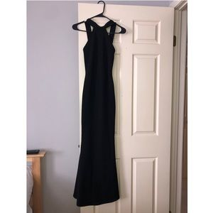 Long Black Dress from Misguided